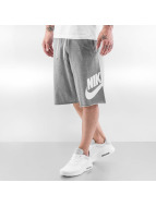 Nike NSW FT GX Shorts Carbon Heather/White