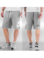 Nike shorts grijs