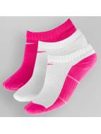 Nike Socks Cotton Cushion No-Show 3-Pack pink