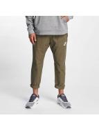 Nike AV15 Pants WVN Medium Olive/Black/White