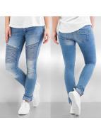 Noisy May Skinny Jeans blau