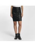 Noisy May Skirt Penny PU black