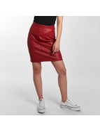 Noisy May Skirt Penny PU red