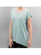 Noisy May T-Shirt Mathilde Loose Long blue