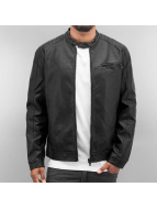 Only & Sons Leather Jacket onsJoren black
