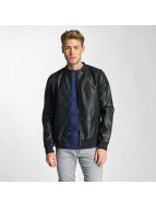 Only & Sons Leather Jacket onsCamp black