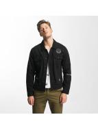 Only & Sons onsRocker Patch Denim Jacket Black Denim