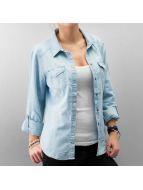 Only Bluse blau