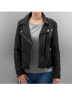Only Leather Jacket onlSheena black
