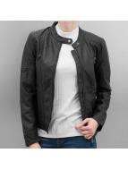 Only Leather Jacket OnlNatacha black