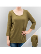 Only Longsleeve onlCasa Button olive
