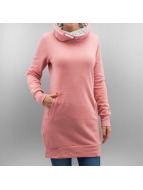 Only Pullover onlBetty Long Highneck rose