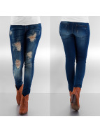 Only Straight fit jeans blauw