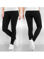 Only Straight fit jeans zwart