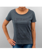 Only t-shirt blauw