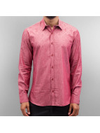 Open Flow Shirt Dark Red