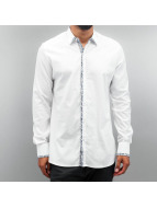 Open Shirt Paisley white