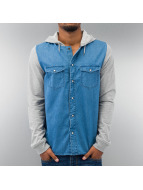 Outfitters Nation overhemd Carlo Denim blauw