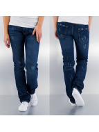 Outfitters Nation Straight fit jeans Alec blauw