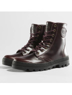 Palladium Boots Pallabosse Off Lea brown