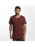 Paris Premium Holes T-Shirt Burgundy