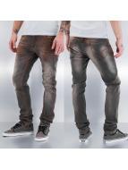Pascucci Straight fit jeans grijs