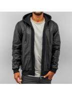 Pelle Pelle Leather Jacket Mix Up Hooded black