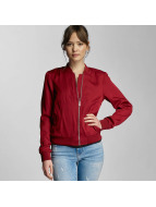 Pieces Bomber jacket pcCampain Bomber red