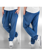 Pieces Chino blauw