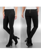 Pieces High Waisted Jeans Funky black