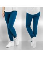 Pieces Legging blau