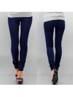 Pieces Legging blau