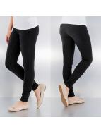 Pieces Legging schwarz