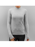 Pieces Longsleeve pcAmy gray