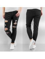 Pieces Skinny Jeans schwarz