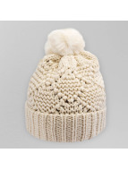 Pieces Winter Bonnet white