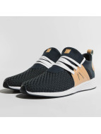 Project Delray Wavey Sneakers Navy Woven/Tan