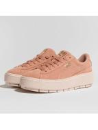 Puma Platform Trace Sneakers Peach Beige/Pearl