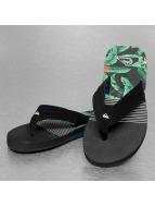 Quiksilver Slipper/Sandaal zwart