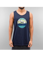 Quiksilver Tank Tops Extinguished blue