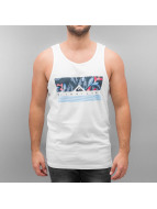 Quiksilver Tank Tops Jungle Box white