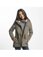 Ragwear Winter Jacket Laika Minidots brown
