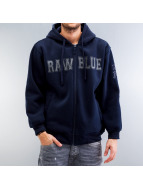 Raw Blue Sweatvest blauw