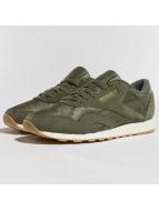 Reebok Classic Nylon SG Sneakers Hunter Green/Chalk