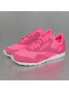Reebok Sneakers Classics Nylon Slim Metallics Packs pink