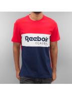 Reebok T-Shirt Archive Stripe red