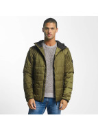 Reell Jeans Lightweight Jacket Hooded Stitch olive