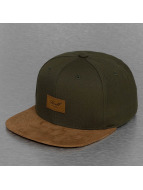 Reell Jeans Snapback Cap Suede olive