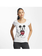 Rock Angel T-Shirt Mickey Mouse white