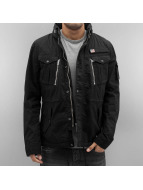 Schott NYC Lightweight Jacket Field black